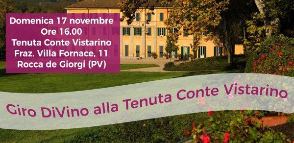 17 novembre - Giro DiVino alla Tenuta Conte Vistarino