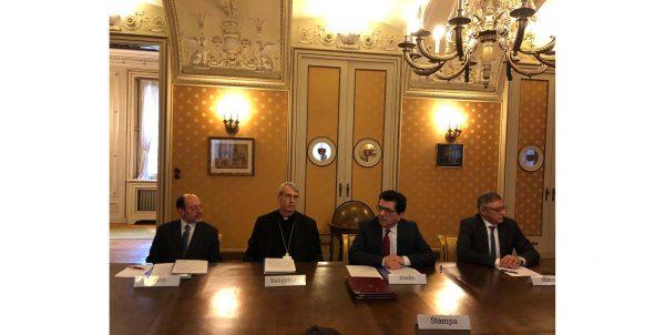 Convenzione tra la Diocesi di Pavia, l'Università di Pavia e la Fondazione IRCCS Policlinico San Matteo