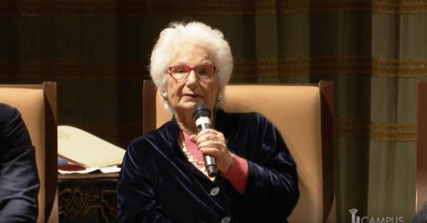 Liliana Segre a Pavia, l'incontro con i giovani della città (Video)