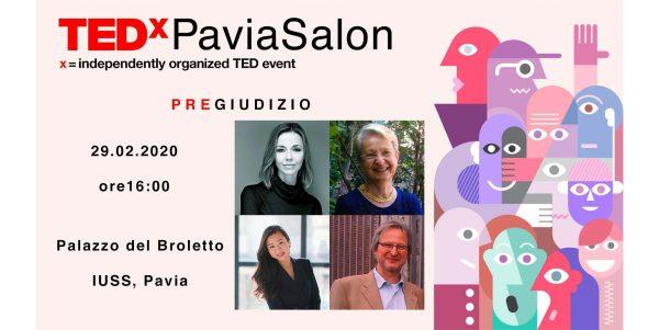 29 febbraio - TEDxPaviaSalon: PreGiudizio