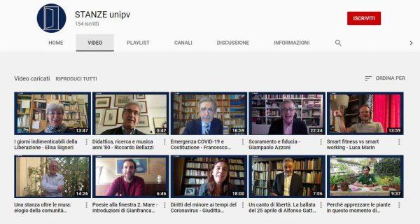 """Nuovi contributi per """"STANZE_unipv"""" il video-magazine dell'Università di Pavia"""