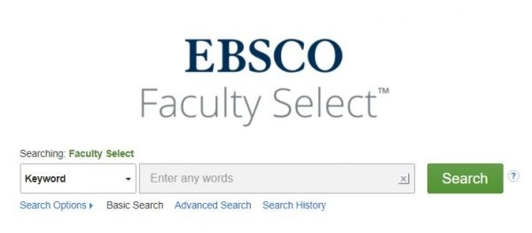 Accedi alle Open Educational Resources (OER) con Faculty select
