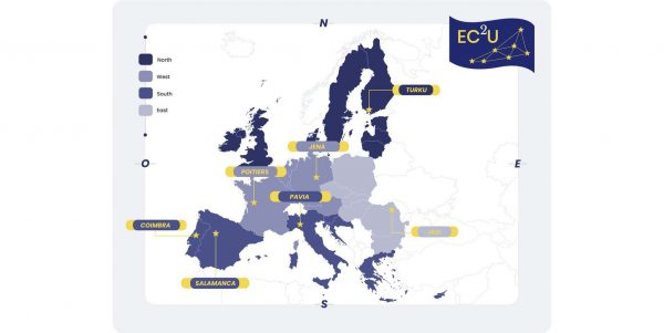 "UniPV firma il messaggio congiunto dell'alleanza Pan-Europea ""European Campus for City Universities"" (EC2U)"