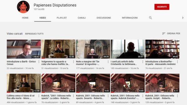 Nuove uscite sul canale Youtube della Pastorale Universitaria