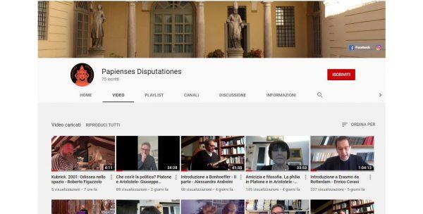 """""""Papienses Disputationes"""": i nuovi video sul canale della Pastorale Universitaria"""