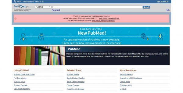 """30 aprile – Webinar """"PubMed 2020: tutte le potenzialità della nuova versione"""""""