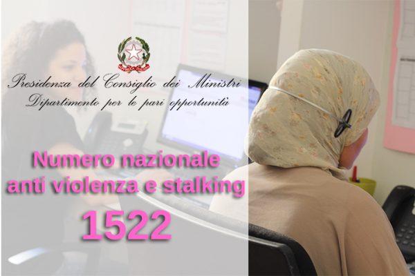 Numero nazionale antiviolenza e stalking sempre attivo