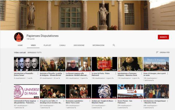 I nuovi video della settimana sul canale Youtube della Pastorale Universitaria