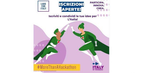 "Hackathon""ITALY OF TOMORROW"""