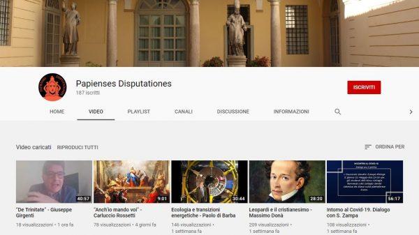Canale Youtube della Pastorale Universitaria: i nuovi video