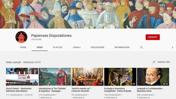 Nuovi video per il canale Youtube della Pastorale Universitaria
