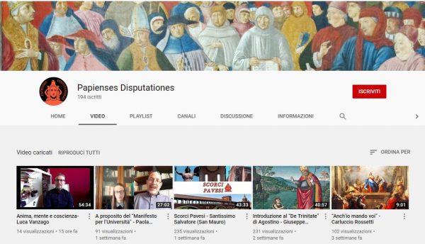 Canale Youtube Pastorale Universitaria: i nuovi video