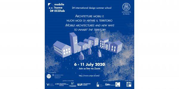 """Dal 6 all'11 luglio - 2° Mobile Home ECOlab """"Architetture mobili e nuovi modi di abitare il territorio"""""""