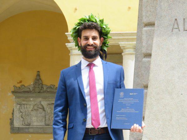 Lo studente Antonio Nuccio ottiene il primo Doppio Titolo Internazionale tra Unipv e UJI