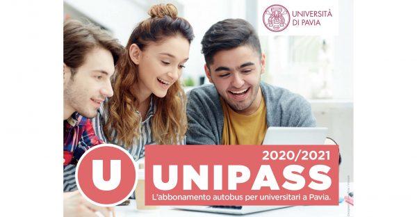 Unipass 2020/2021: l'abbonamento autobus per universitari a Pavia