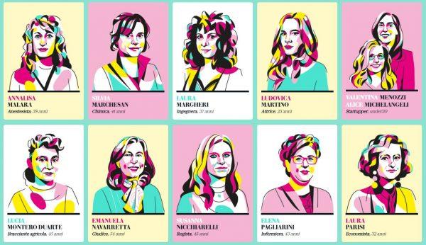 Sostieni le laureate Unipv al concorso «D - la Repubblica» per individuare la donna dell'anno 2020