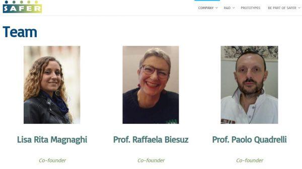 SAFER, spin-off Unipv, si aggiudica il premio speciale BCC Milano alla StartCup Lombardia
