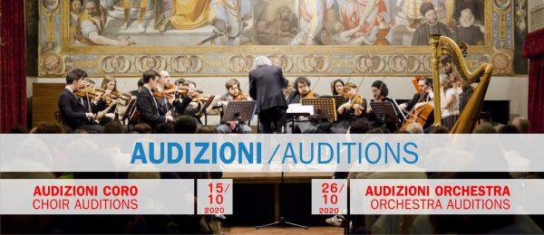15 e 26 ottobre - Audizioni Coro e Orchestra Collegio Borromeo