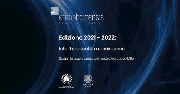 Nuova edizione dell'Executive MBA Ticinensis