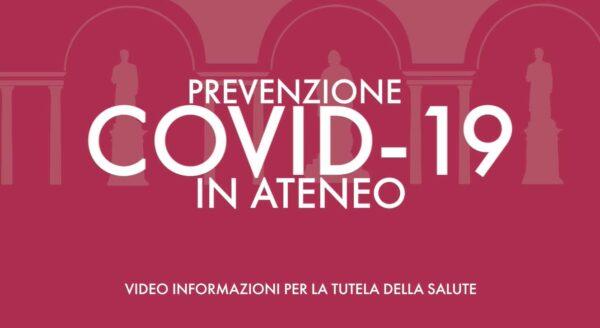 Seconda parte - Diffondere la prevenzione Covid-19 nell'Ateneo pavese
