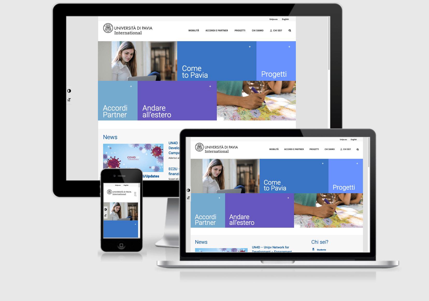 Nuovo sito relazioni internazionali