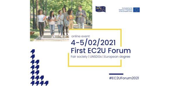 4 e 5 febbraio - Primo Forum EC2U