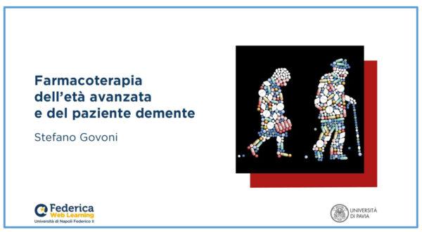 Su Federica.eu nuovo MOOC dedicato alla Farmacoterapia tenuto dal prof. Govoni