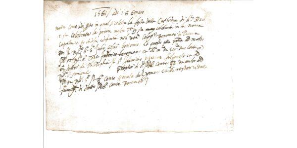 440 anni fa la prima messa in Collegio Borromeo, attivo da allora il servizio per tutti gli studenti