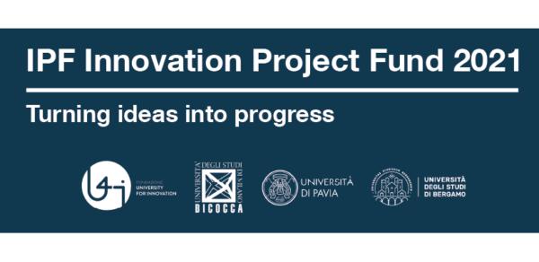 Aperto il Bando IPF Innovation Project Fund 2021